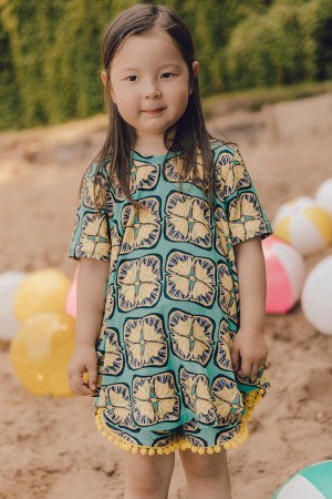 Tunic Rosa Lemon Sunflowers