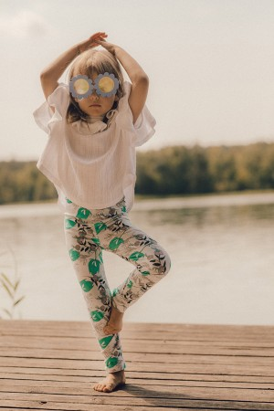 Leggings Fiori Retro Garden