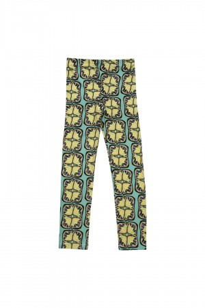 Legginsy Fiori Lemon Sunflowers