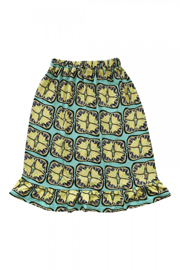 Skirt Valentina Lemon Sunflowers