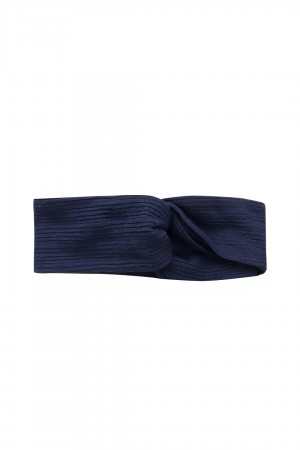 Head band Gianna Navy Blue