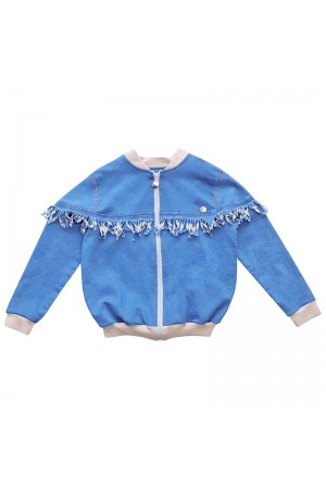 Carla Jeans Bomber Airy Blue