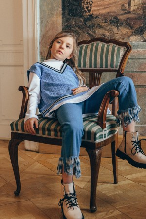Clotilde Trousers Airy Blue